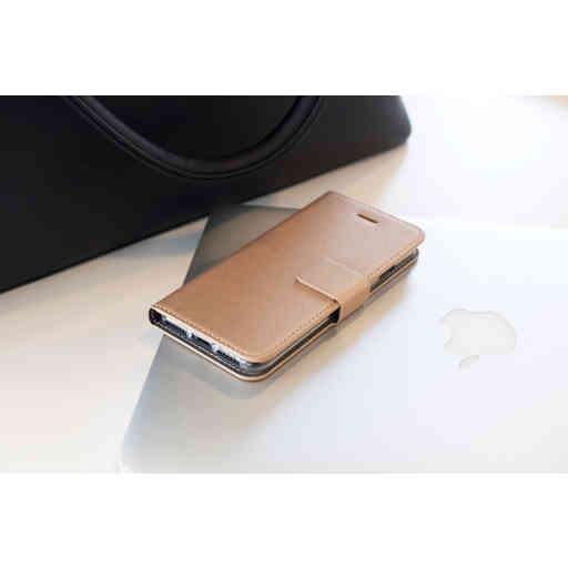 Mobiparts Saffiano Wallet Case Samsung Galaxy A8 (2018) Copper