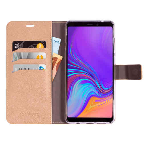 Mobiparts Saffiano Wallet Case Samsung Galaxy A9 (2018) Copper