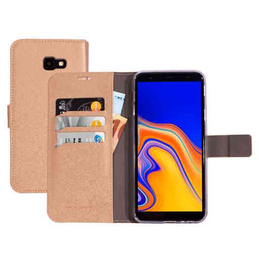 Mobiparts Saffiano Wallet Case Samsung Galaxy J4 Plus (2018) Copper
