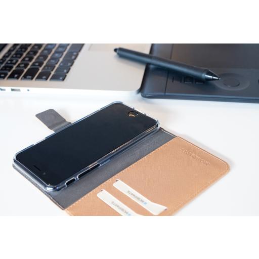 Mobiparts Saffiano Wallet Case Samsung Galaxy J6 (2018) Copper