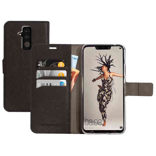 Mobiparts Saffiano Wallet Case Huawei Mate 20 Lite Black