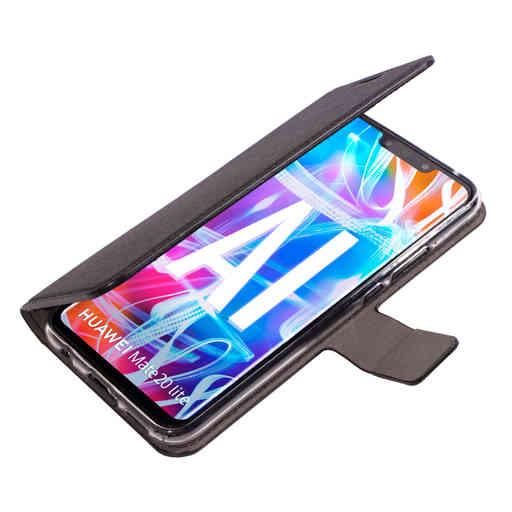 Mobiparts Saffiano Wallet Case Huawei Mate 20 Lite Black