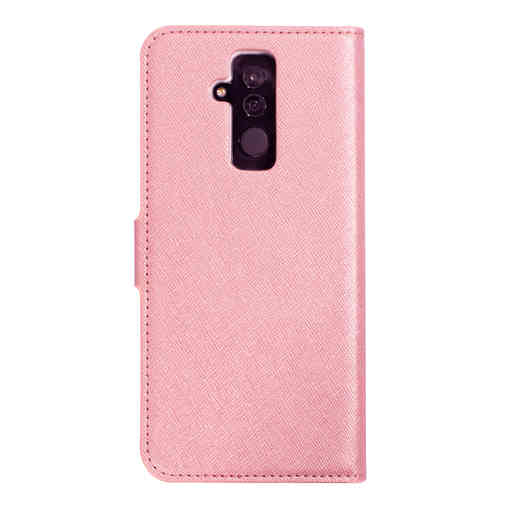 Mobiparts Saffiano Wallet Case Huawei Mate 20 Lite Pink