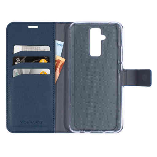 Mobiparts Classic Wallet Case Huawei Mate 20 Lite Blue