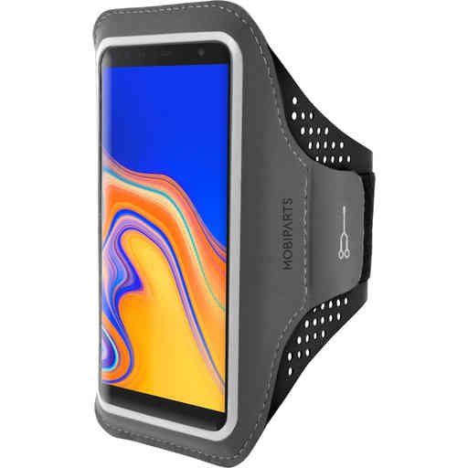 Mobiparts Comfort Fit Sport Armband Samsung Galaxy J6 Plus (2018) Black