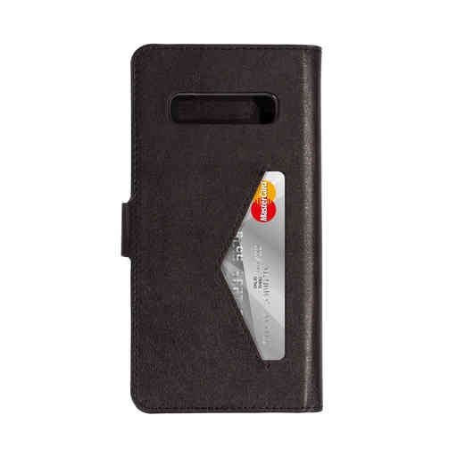 Mobiparts Classic Wallet Case Samsung Galaxy S10 Plus Black