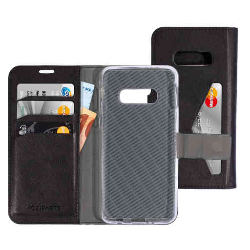 Mobiparts Classic Wallet Case Samsung Galaxy S10e Black