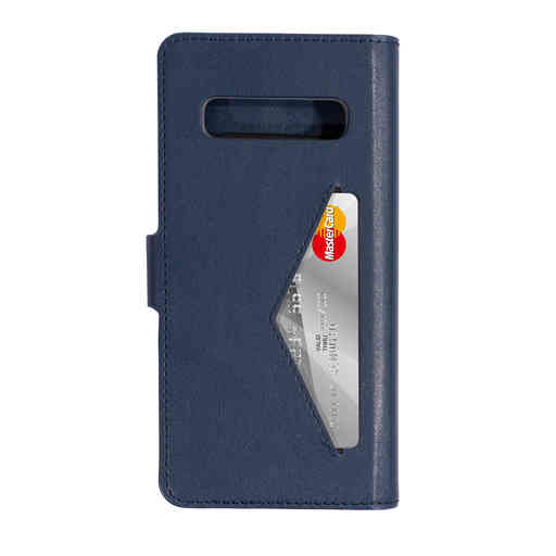 Mobiparts Classic Wallet Case Samsung Galaxy S10 Blue