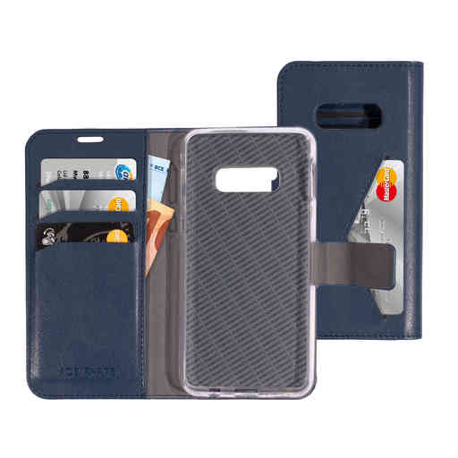 Mobiparts Classic Wallet Case Samsung Galaxy S10e Blue