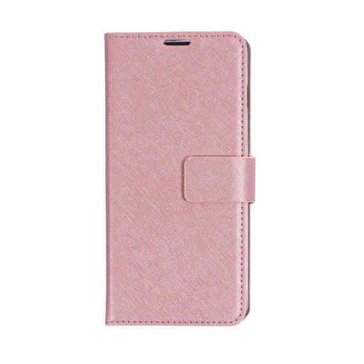 Mobiparts Saffiano Wallet Case Samsung Galaxy S10 Pink