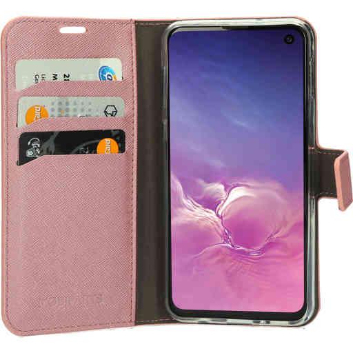 Mobiparts Saffiano Wallet Case Samsung Galaxy S10e Pink