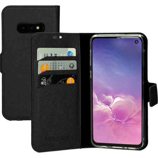 Mobiparts Saffiano Wallet Case Samsung Galaxy S10e Black