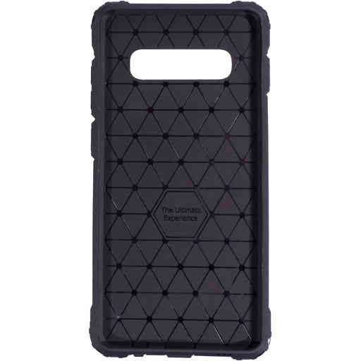 Mobiparts Rugged Shield Case Samsung Galaxy S10 Plus Black