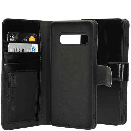 Mobiparts Excellent Wallet Case 2.0 Samsung Galaxy S10 Jade Black