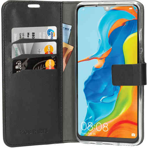 Mobiparts Classic Wallet Case Huawei P30 Lite Black