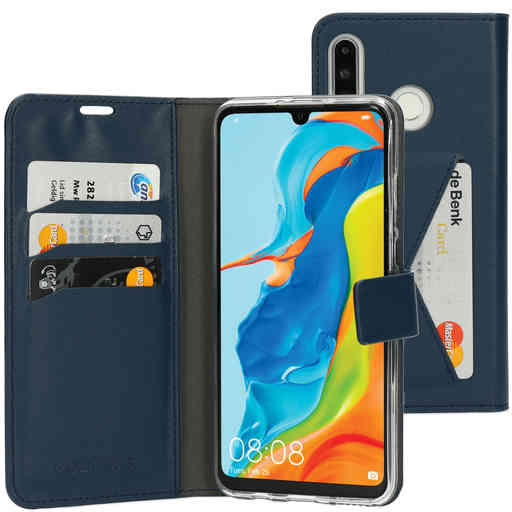 Mobiparts Classic Wallet Case Huawei P30 Lite Blue