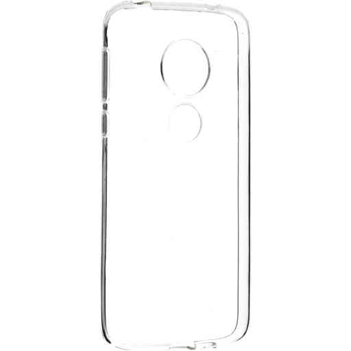 Mobiparts Classic TPU Case Motorola Moto G7 Play Transparent