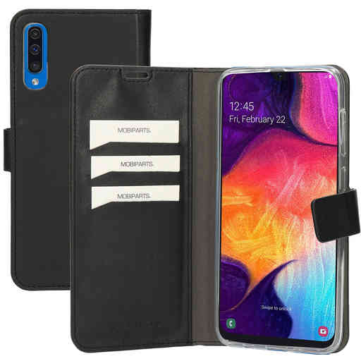 Mobiparts Classic Wallet Case Samsung Galaxy A50/A30S Black