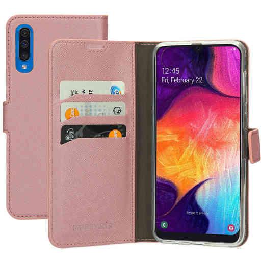 Mobiparts Saffiano Wallet Case Samsung Galaxy A50/A30S Pink