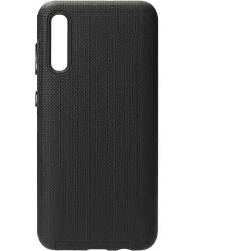 Mobiparts Rugged Tough Grip Case Samsung Galaxy A50 (2019) Black