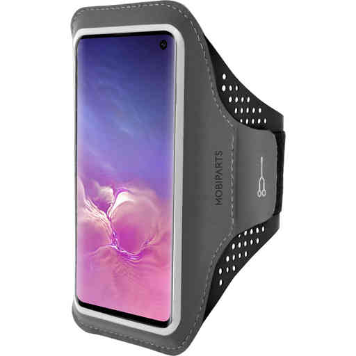 Mobiparts Comfort Fit Sport Armband Samsung Galaxy S10 Black