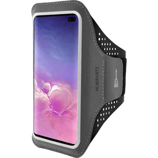 Mobiparts Comfort Fit Sport Armband Samsung Galaxy S10 Plus Black