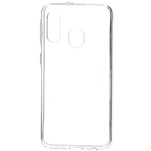Mobiparts Classic TPU Case Samsung Galaxy A40 (2019) Transparent