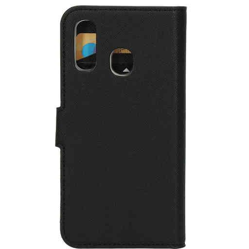 Mobiparts Saffiano Wallet Case Samsung Galaxy A40 (2019) Black