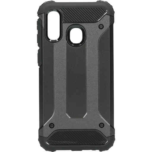 Mobiparts Rugged Shield Case Samsung Galaxy A40 (2019) Black