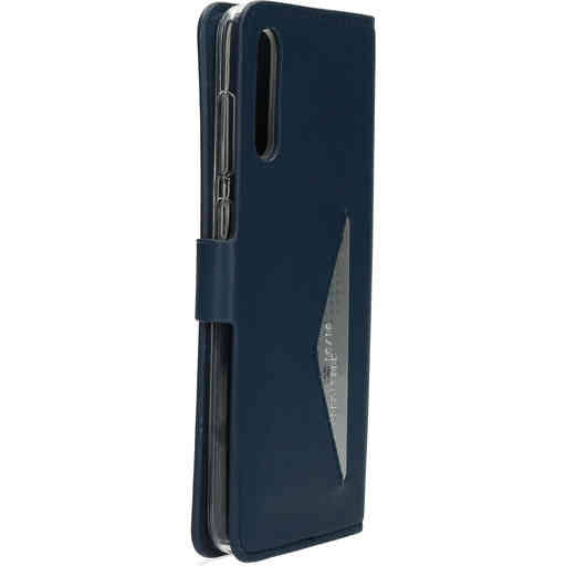 Mobiparts Classic Wallet Case Samsung Galaxy A70 (2019) Blue