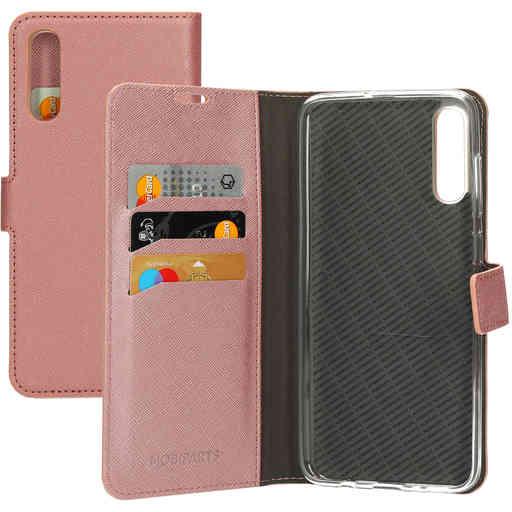 Mobiparts Saffiano Wallet Case Samsung Galaxy A70 (2019) Pink