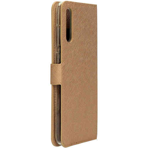 Mobiparts Saffiano Wallet Case Samsung Galaxy A70 (2019) Copper