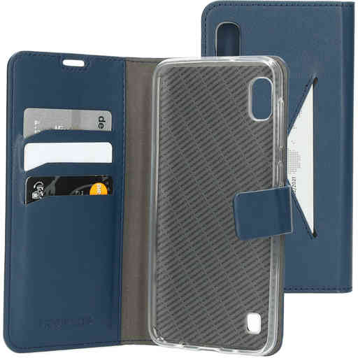Mobiparts Classic Wallet Case Samsung Galaxy A10 (2019) Blue