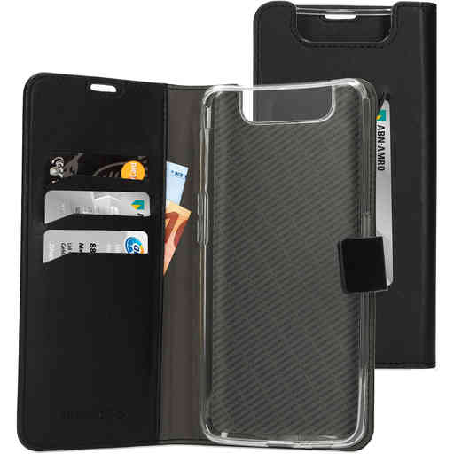 Mobiparts Classic Wallet Case Samsung Galaxy A80 (2019) Black