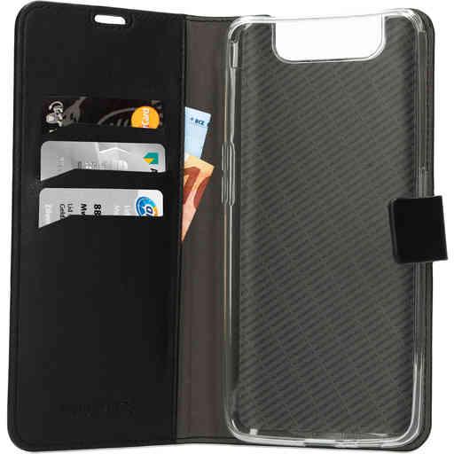 Mobiparts Classic Wallet Case Samsung Galaxy A80 (2019) Black