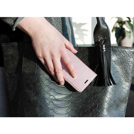 Mobiparts Saffiano Wallet Case Samsung Galaxy A10 (2019) Pink