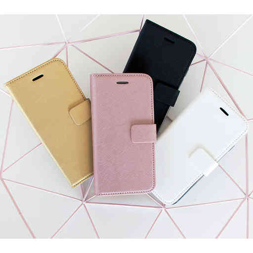 Mobiparts Saffiano Wallet Case Samsung Galaxy A20e (2019) Pink