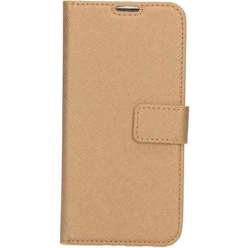 Mobiparts Saffiano Wallet Case Samsung Galaxy A20e (2019) Copper