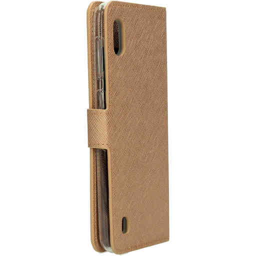 Mobiparts Saffiano Wallet Case Samsung Galaxy A10 (2019) Copper