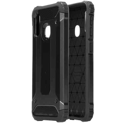 Mobiparts Rugged Shield Case Samsung Galaxy A20e (2019) Black