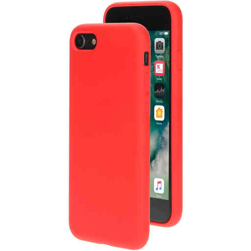 Mobiparts Silicone Cover Apple iPhone 7/8 Scarlet Red