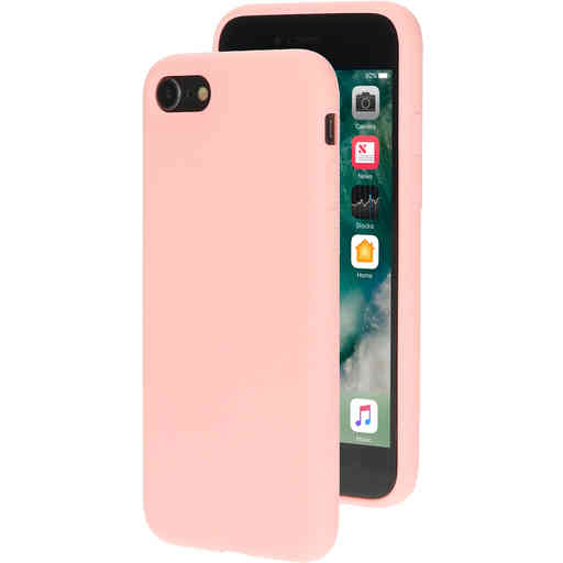 Mobiparts Silicone Cover Apple iPhone 7/8 Blossom Pink
