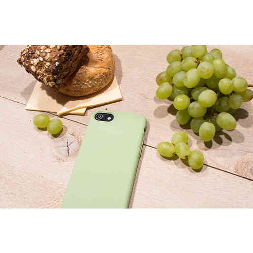 Mobiparts Silicone Cover Apple iPhone 7/8/SE (2020) Pistache Green