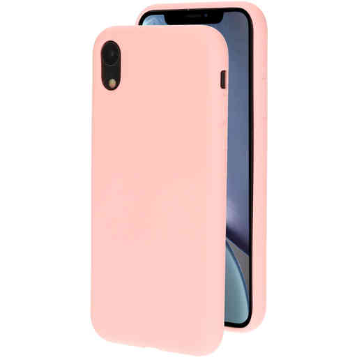 Mobiparts Silicone Cover Apple iPhone XR Blossom Pink