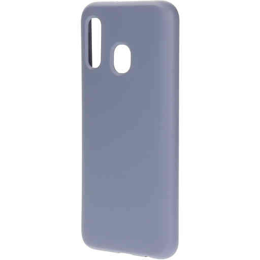Mobiparts Silicone Cover Samsung Galaxy A40 (2019) Royal Grey