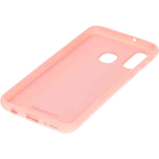 Mobiparts Silicone Cover Samsung Galaxy A40 (2019) Blossom Pink