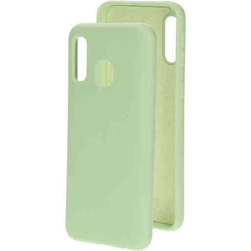 Mobiparts Silicone Cover Samsung Galaxy A40 (2019) Pistache Green