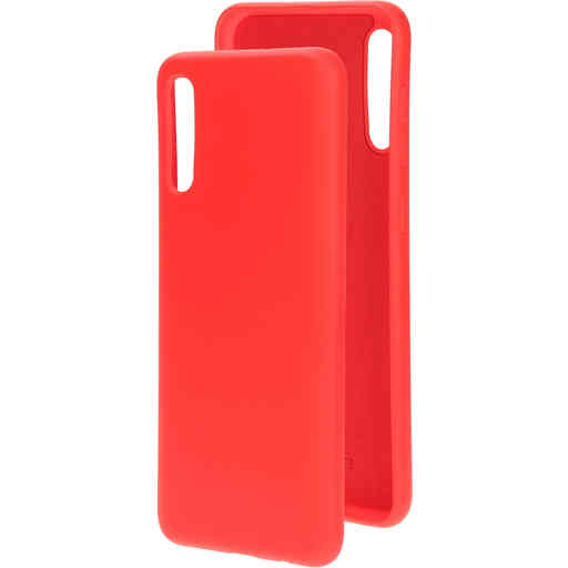 Mobiparts Silicone Cover Samsung Galaxy A50 (2019) Scarlet Red