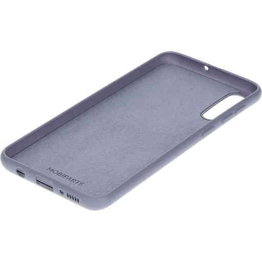 Mobiparts Silicone Cover Samsung Galaxy A50/A30S Royal Grey