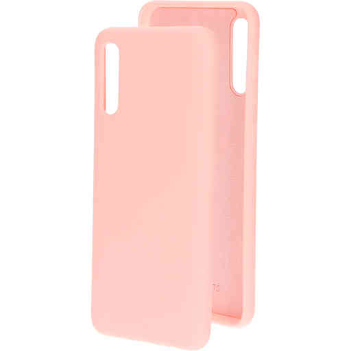 Mobiparts Silicone Cover Samsung Galaxy A50/A30S Blossom Pink